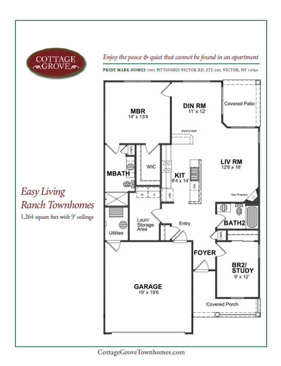 Cottage Grove Townhomes for rent